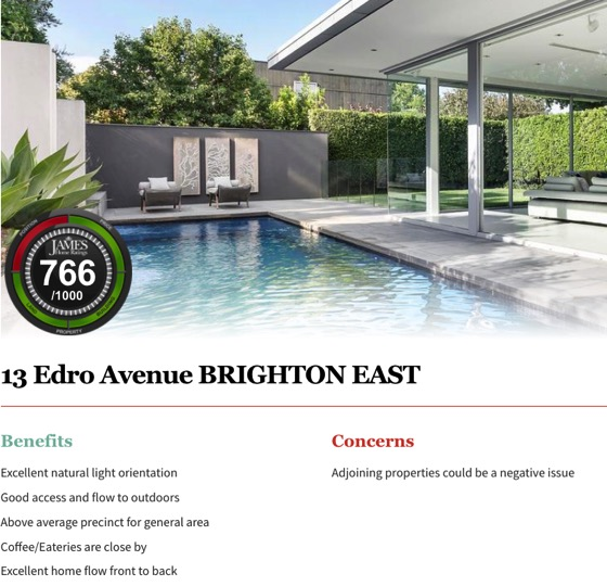 More interesting on and off market family homes we visited in Bayside mid week - click on  picture to go through to rating.