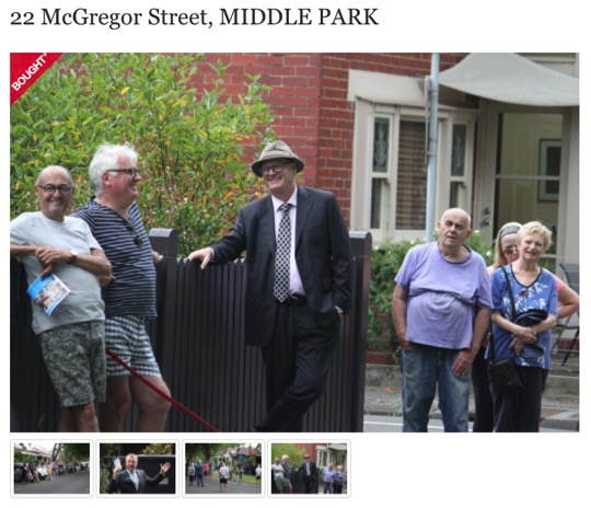 "Getting ""beaten"" at 22 McGregor St Middle Park when stopping at our limit. As it turns out we believe the neighbour was the successful bidder. James Auction Report below"