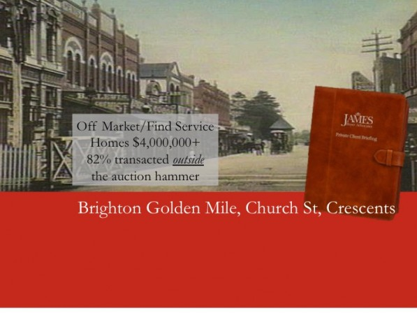 Click on here to go to James Off Market Home Rating -  Brighton
