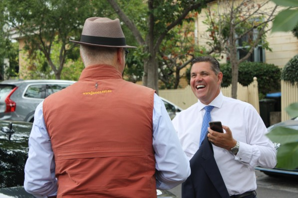 Out and about today 24 Clara St. South Yarra with Gowan Stubbings. Yeah I knew you like that joke about Mike Gibson